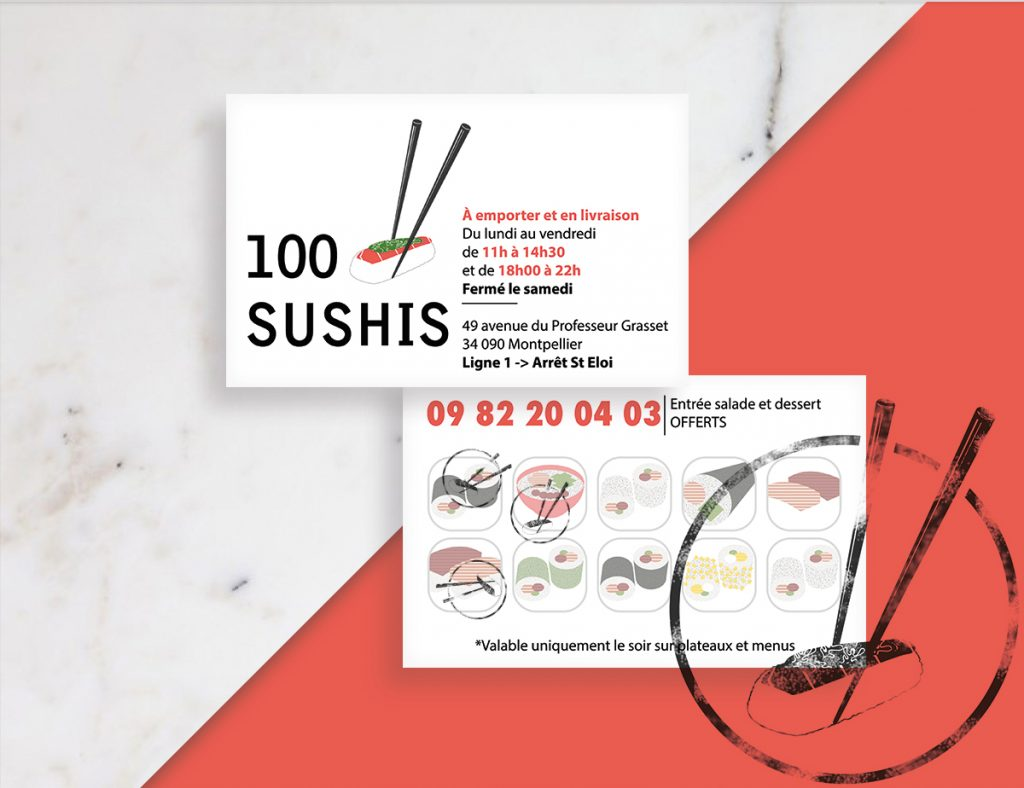 100 Sushies restaurant - Montpellier - Romain Jimenez