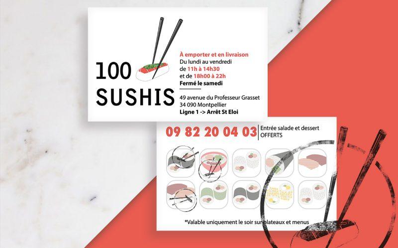 100 Sushies restaurant - Montpellier - Romain Jimenez